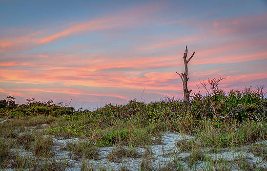 Stump Pass Beach Sunset by R Scott Duncan