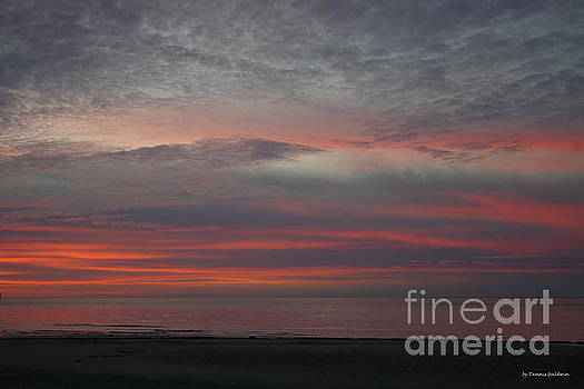 Stunning Cape Charles sunset by Tannis Baldwin