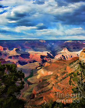 Chuck Kuhn - Stunning Grand Canyon Paint