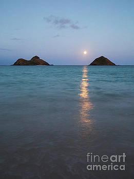 Charmian Vistaunet - Stunning Hawaii Moonrise