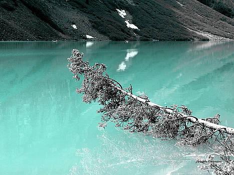 Stunning Turquoise Glacial Lake by Joseph Noonan
