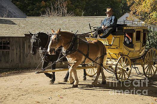 Bob Phillips - Sturbridge Village Stagecoach