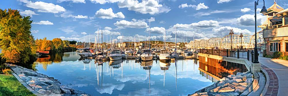 Christopher Arndt - Sturgeon Bay Marina Panorama