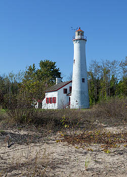 Sturgeon Point Lighthouse by Fran Riley
