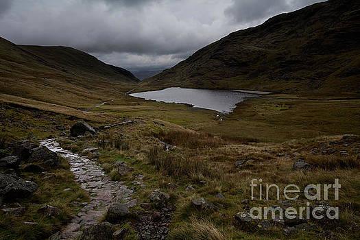 Styhead Pass footpath by Gavin Dronfield