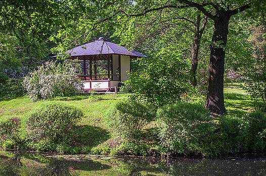 Jenny Rainbow - Stylish Pavilion  in Japanese Garden