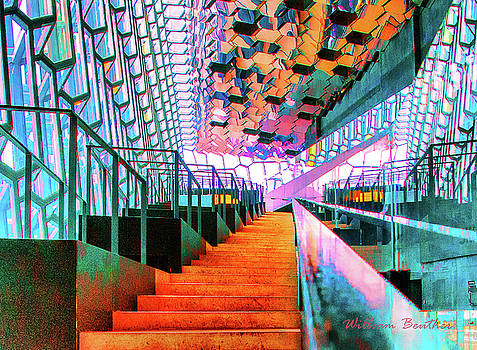 Stylish Stairway by William Beuther