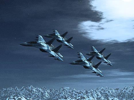 SU-35 Russia by Steven Palmer
