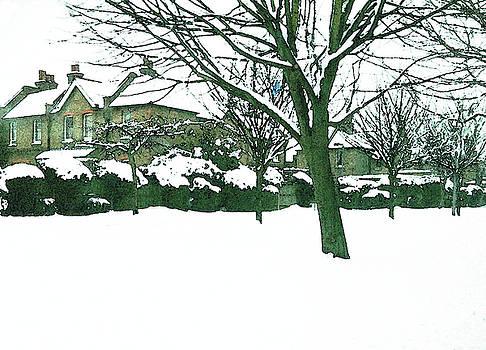 Suburban Snow by Anne Kotan