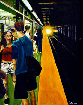Subway II by George Grace