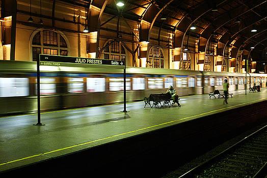 Subway of Sao Paulo by Luciano Trevisan