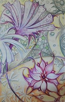 Succulent Flow by Laura Noel