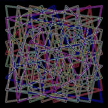 Sudoku2 Aglow by Ron Brown