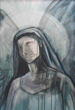 Suffering of Mary by Barbara Simpson