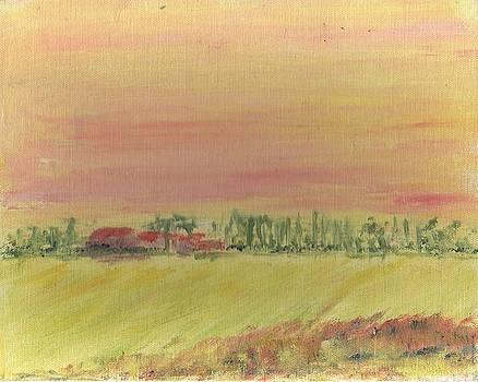 Suffolk Sunrise by Bernard Victor