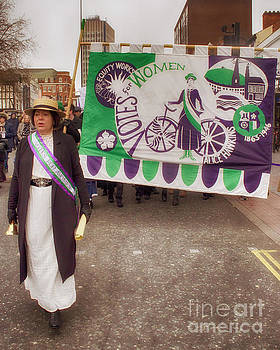 Suffragette by Linsey Williams