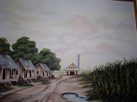 Sugar Cane Lane by Monica Chiasson