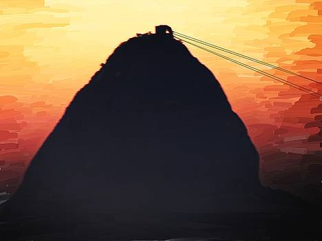 Sugar Loaf Sunset by Alex Moura