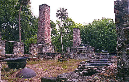 Sugar Mill Ruins by Richard Nickson