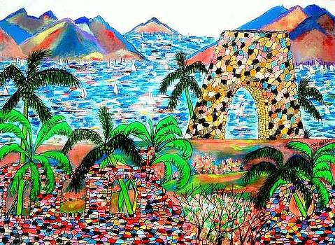 Sugar Mill Ruins by Ted Hebbler