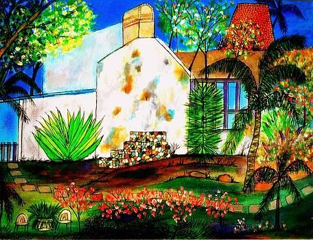 Sugar Plantation Cookhouse St Croix by Ted Hebbler