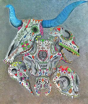 Sugar Skulls  by Siobhan Shene