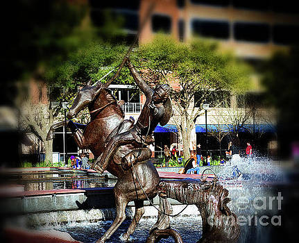 Sugarland Square Statue by JB Thomas