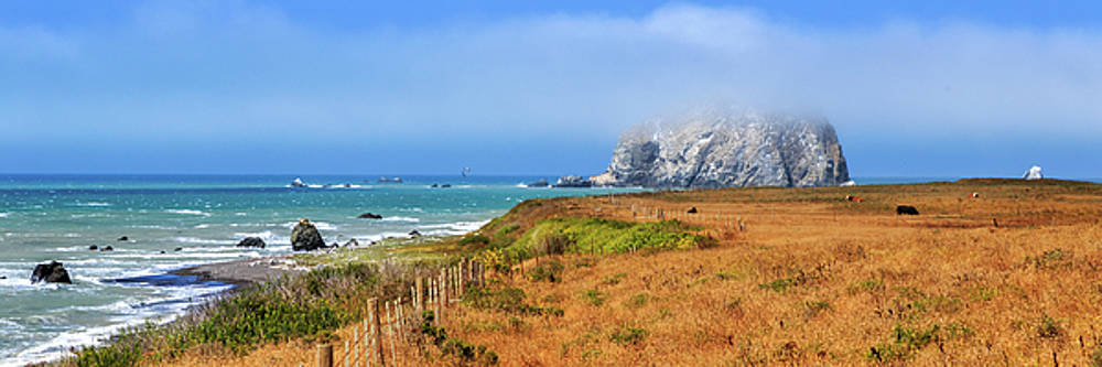 Sugarloaf Island Panorama by James Eddy