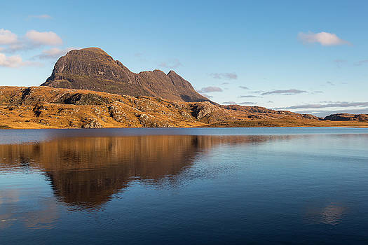 Suilven Reflections on Fionn Loch by Derek Beattie