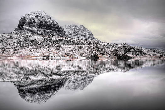 Suilven Winter Reflections by Derek Beattie