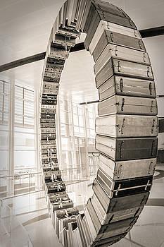 Suitcase Wheel by Sennie Pierson