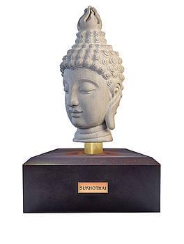 Buddha sculpture - Sukhothai by Terrell Kaucher