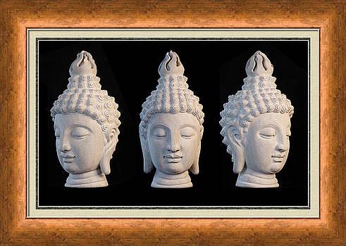 Sukhothai Greeting Card 1 by Terrell Kaucher