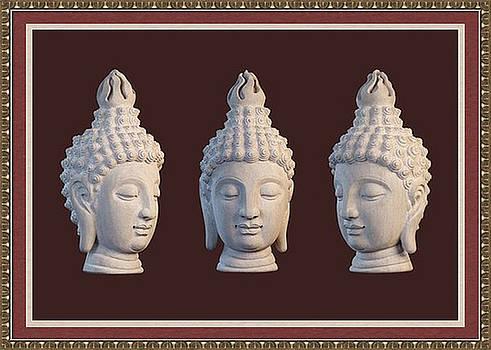 Sukhothai Greeting Card 2 by Terrell Kaucher