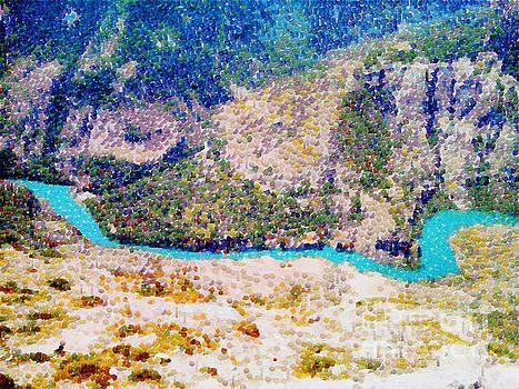 Sulak river canyon by Magomed Magomedagaev