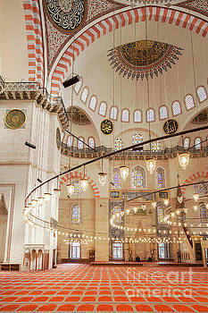 Sophie McAulay - Suleymaniye Mosque Interior