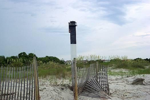 Sullivans Island Lighthouse by Nancy Wiegand
