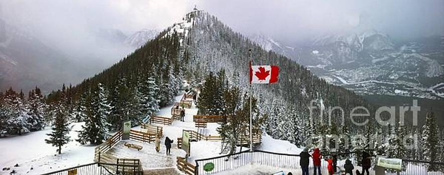 Sulphur Mountain in Banff National Park in the Canadian Rocky Mountains by Akshay Thaker 'PhotOvation'