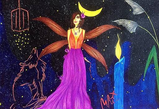 Sultana-the Enigmatic Guardian Spirit. by Tejsweena Krishan