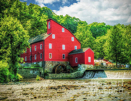 Nick Zelinsky - Summer View of the Red Mill