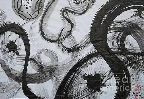SUMIE 1 by Taikan by Taikan Nishimoto