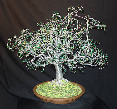 Summer 1. Wire Tree Sculpture by Sal Villano