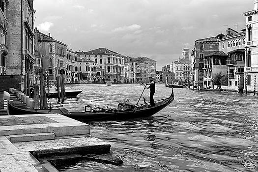 Summer afternoon on the Grand Canal by John Hoey