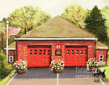 Summer at E7 Fire Station by Rita Brown