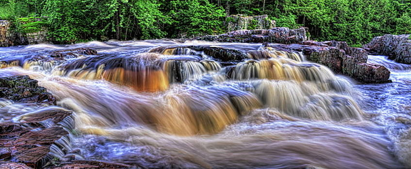 Dale Kauzlaric - Summer At The Dells of The Eau Claire