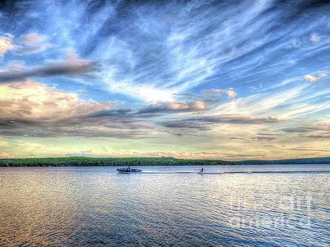 Summer at the lake by Brenda Ketch