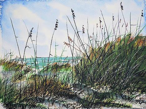 Summer Beach by Robbie L Rogers