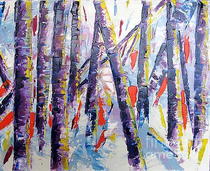 Summer Birches by Lisa Boyd