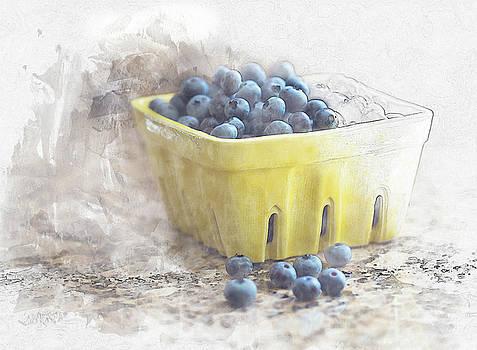 Summer Blueberries by Sue Collura
