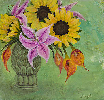 Summer Bouquet by Karen Forsyth